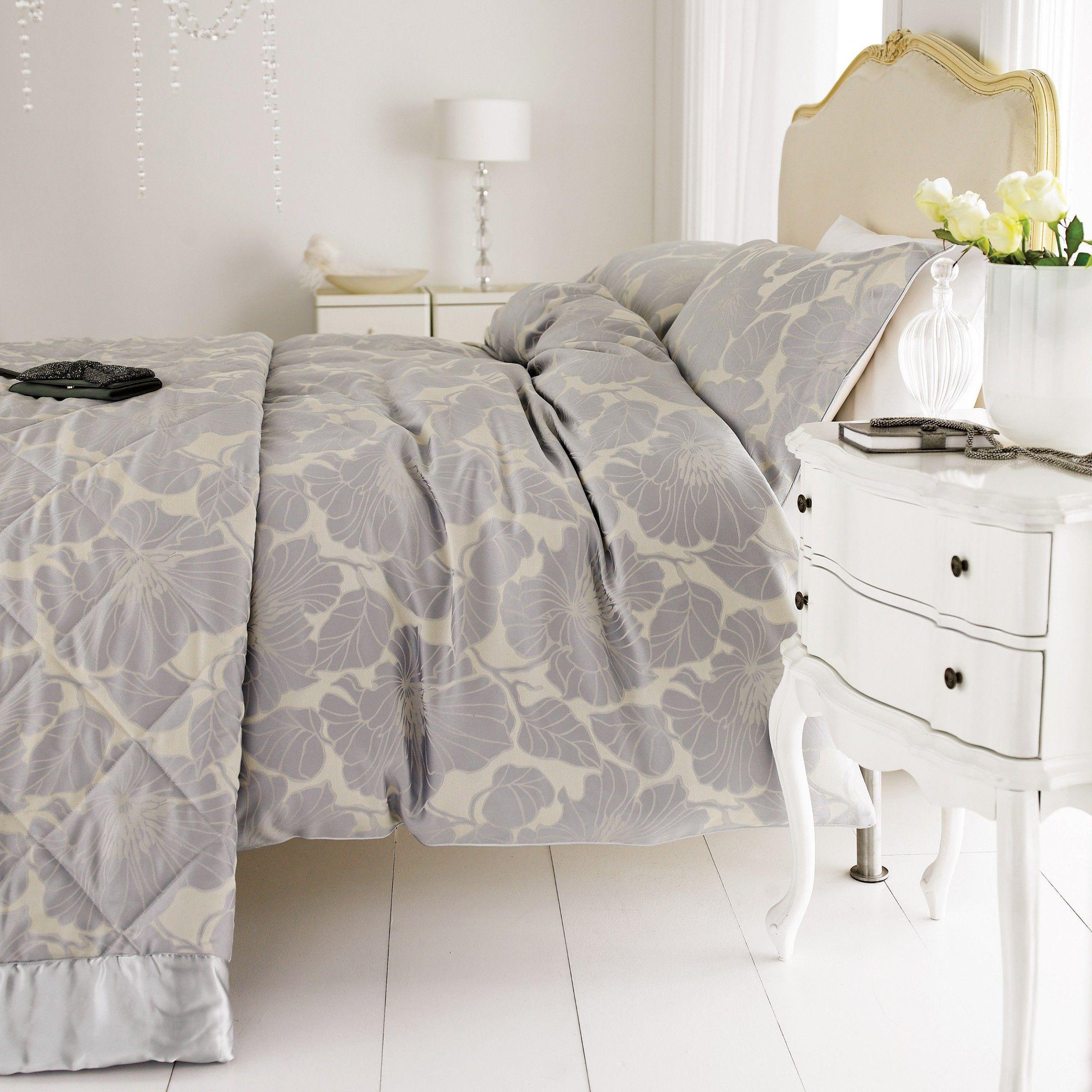 Jacquard Bed Sets Pion Silver By Harlequin Bedding At Bedeck 1951