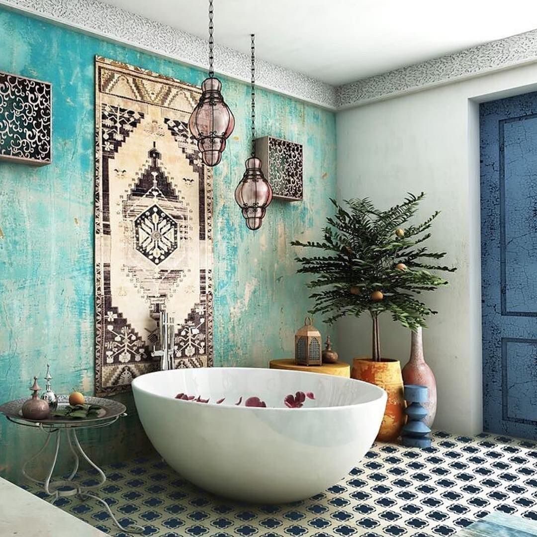 Alt Use For The Dressing Room Earthy BathroomMoroccan