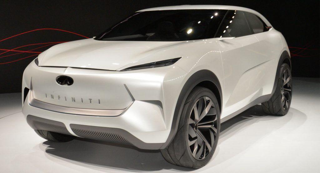 Infiniti Qx Inspiration Concept Broke Down In Detroit Got Covered