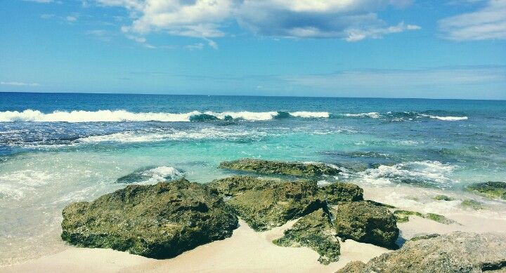 Eastern coast of oahu on our honeymoon 2012