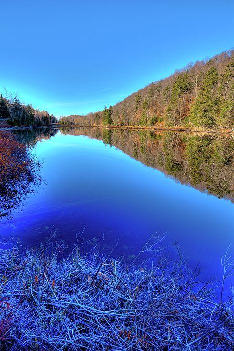 Bald Mountain Pond in November - Old Forge, NY #ADK #Adirondacks
