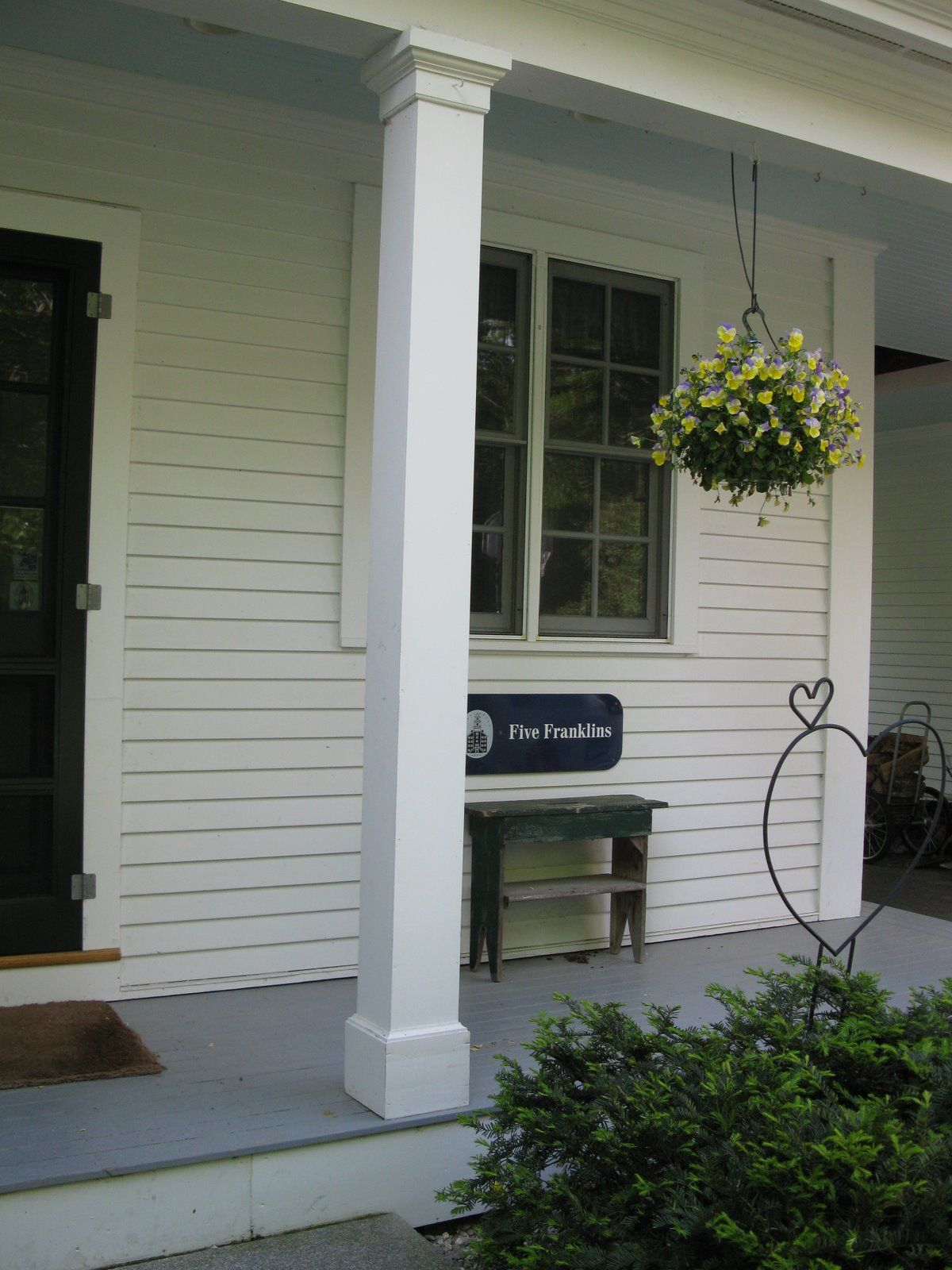Replacing A Wood Porch Post Front Porch Columns House With
