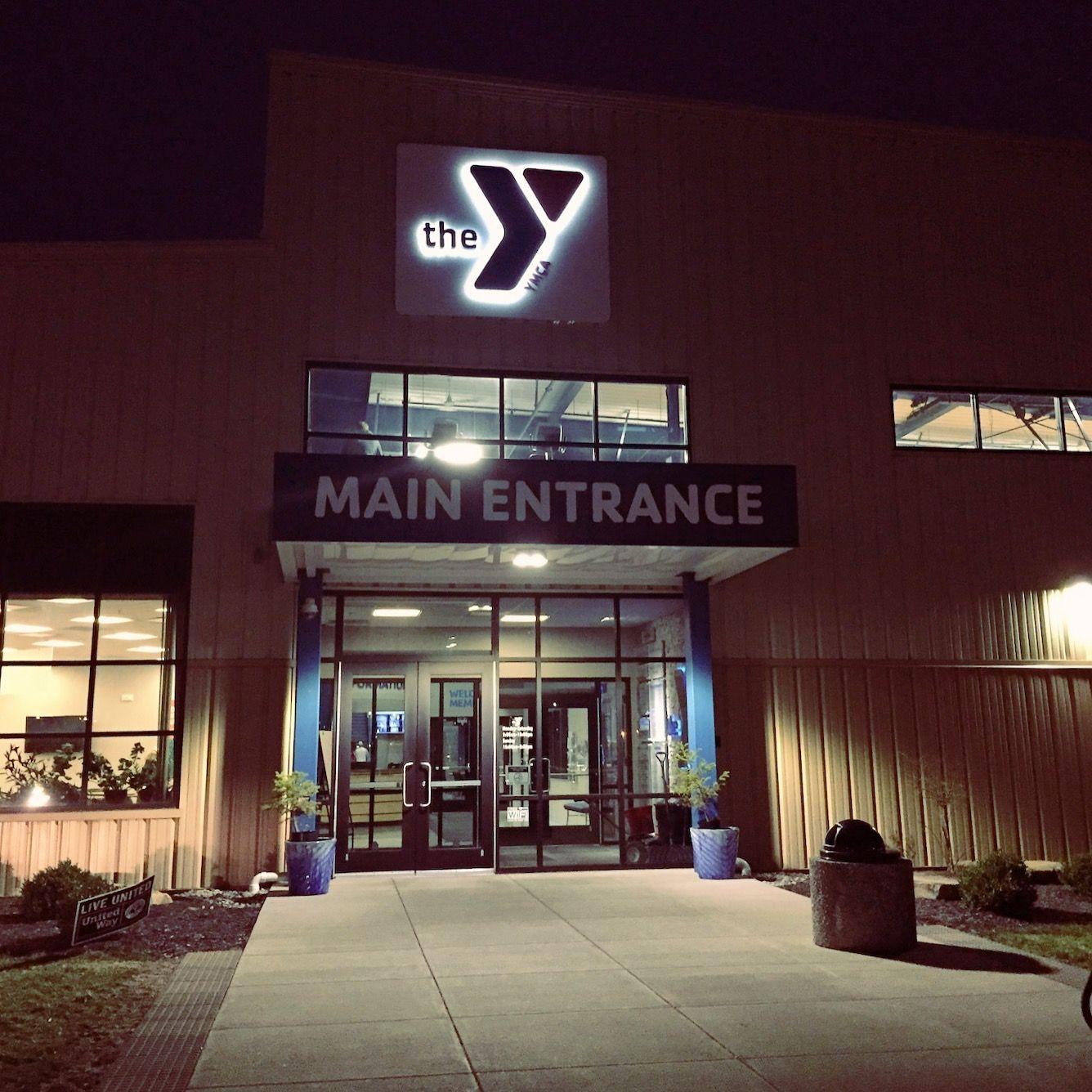 The Dekalb County Ymca Located In Auburn In Dekalb County Main Entrance Auburn