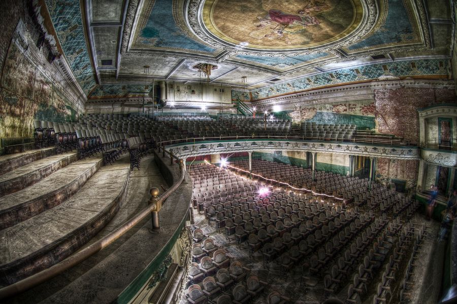 The New Bedford Orpheum Theatre A Abandoned Theatre In New