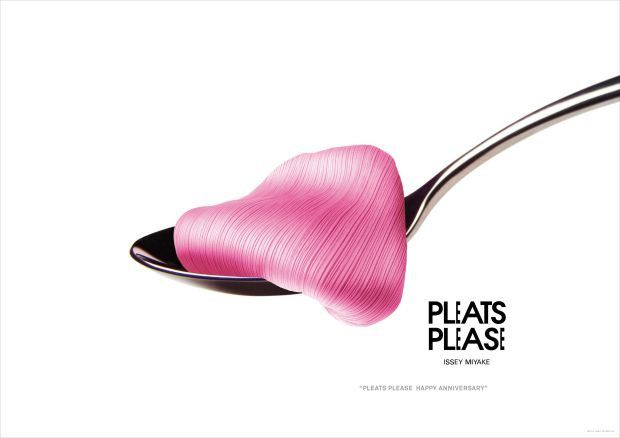 Pleats Please  Art Direction: Taku Satoh    Design: Shingo Noma  Photograph: Yasuaki Yoshinaga