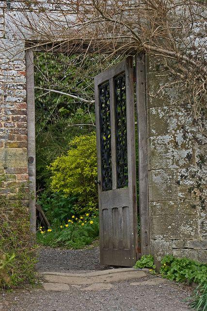 open garden door Garden doors Garden doors, Garden