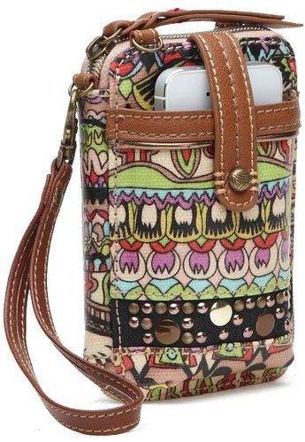 uk availability 589a0 c665a Sakroots Artist Circle Smartphone Wristlet   Show Your Love on ...