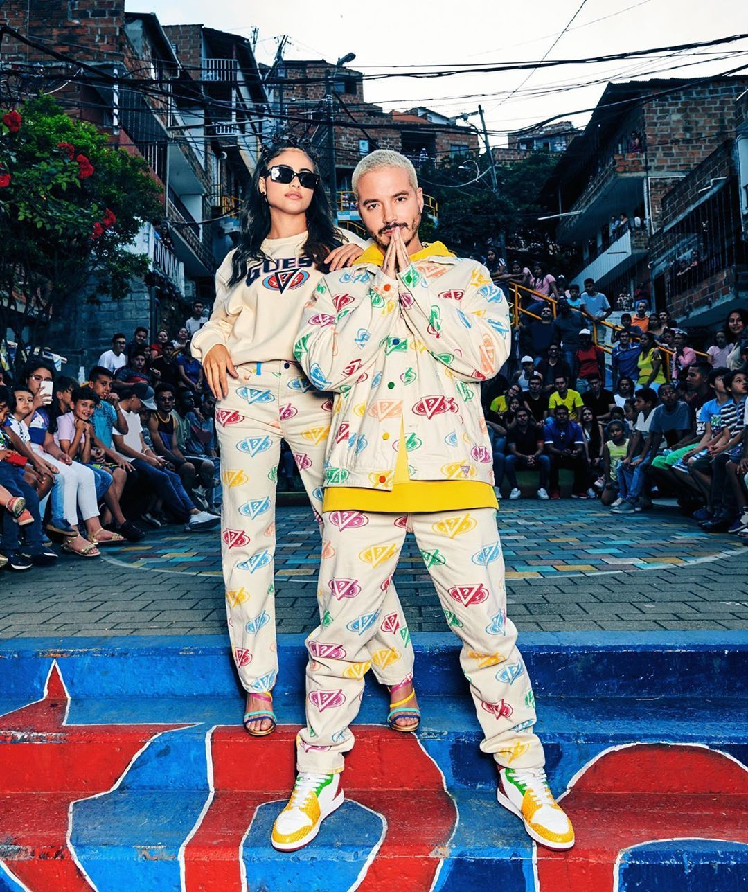 J Balvin On Instagram Colores Coming Soon With My Partners At Guess Guessxjbalvin Guesspartner Y El A In 2020 Fashion Two Piece Pant Set Branding Inspiration