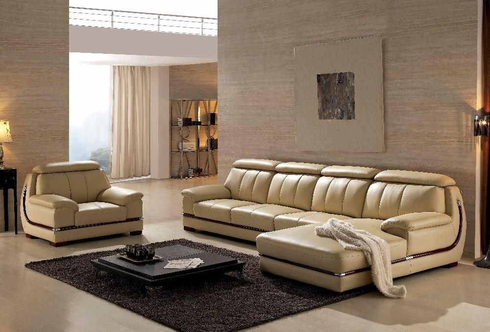 2016 Bean Bag Chair Sectional Sofa Armchair Hot Sale Italian Style Leather Corner Sofas