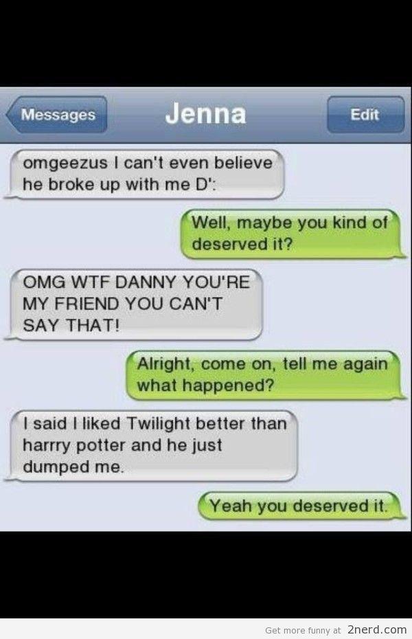 Twilight Better Than Harry Potter Harry Potter Texts Harry Potter Memes Hilarious Harry Potter Twilight