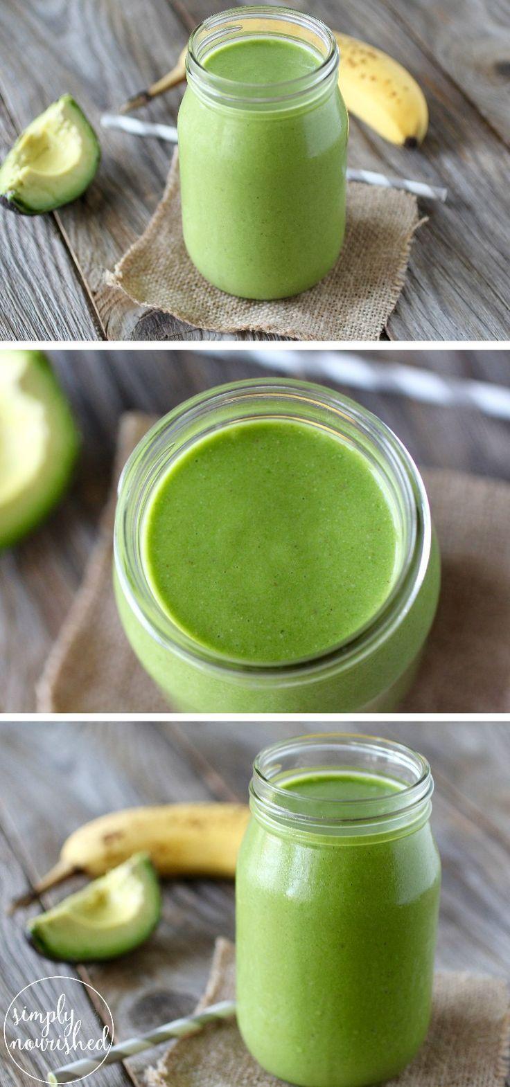 und lecker. Dieses Rezept ist eine perfekte Einführung in grüne Smoothies. | ...   - wake up call -