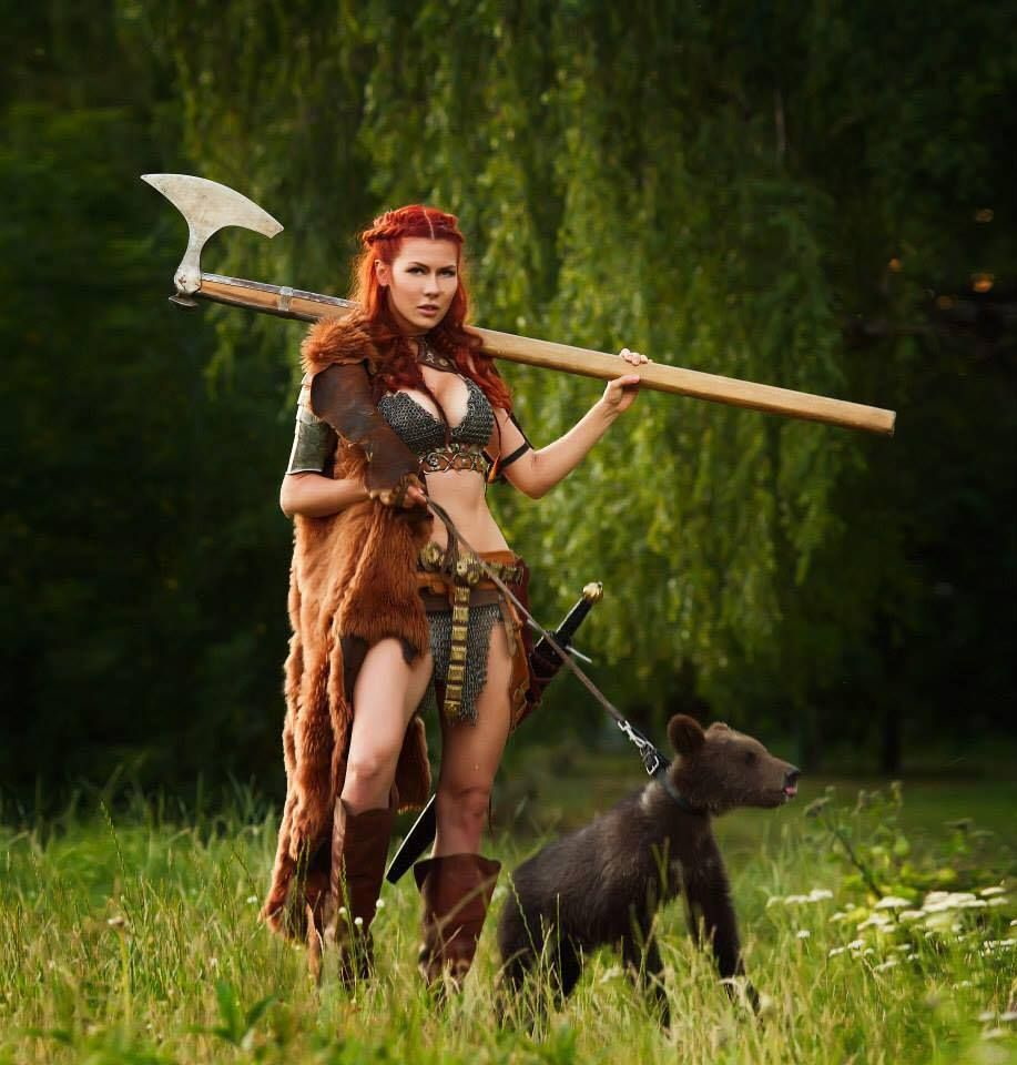 амазонки любят викингов - 9