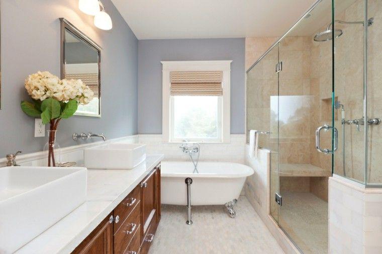 Resultado de imagen para baños pequeños modernos y elegante con