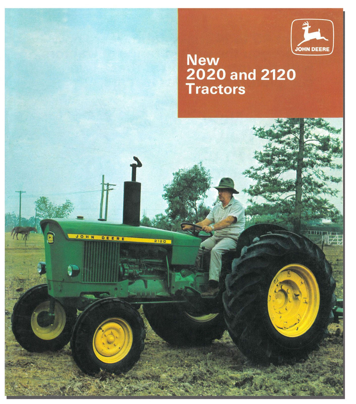 $17.99 AUD - John Deere 2020 2120 Tractor Brochure 1967 To 1972 #ebay  #Collectibles