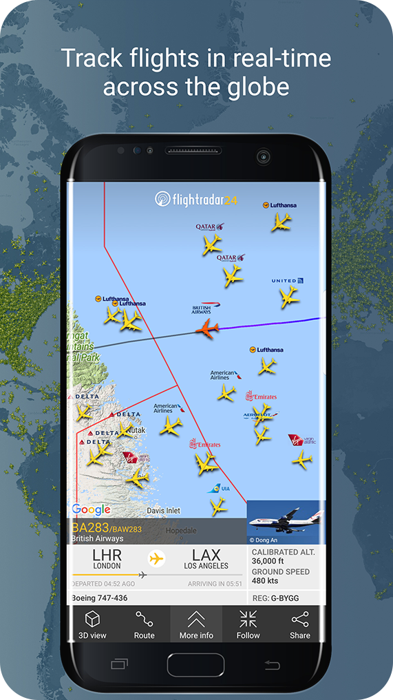 Track Flights In Real Time Across The Globe Flight Tracker Real Time Hopedale