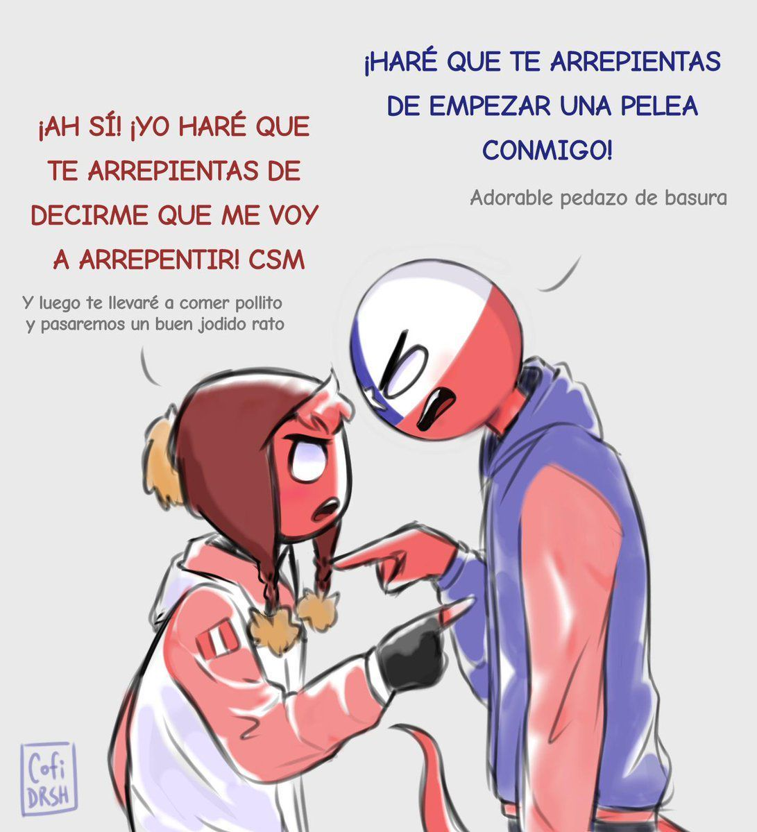 Pin de ུ ۪۪ ⿻ꔪ⃢ ⃢🌈 ུ. en Countryhumans Perú Mundo comic