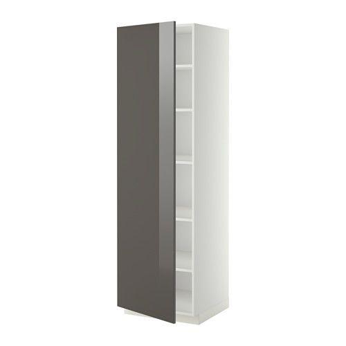 Metod Hoge Kast Met Planken 60x60x200 Cm Ringhult