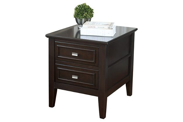 Larimer End Table By Ashley Homestore Brown End Tables