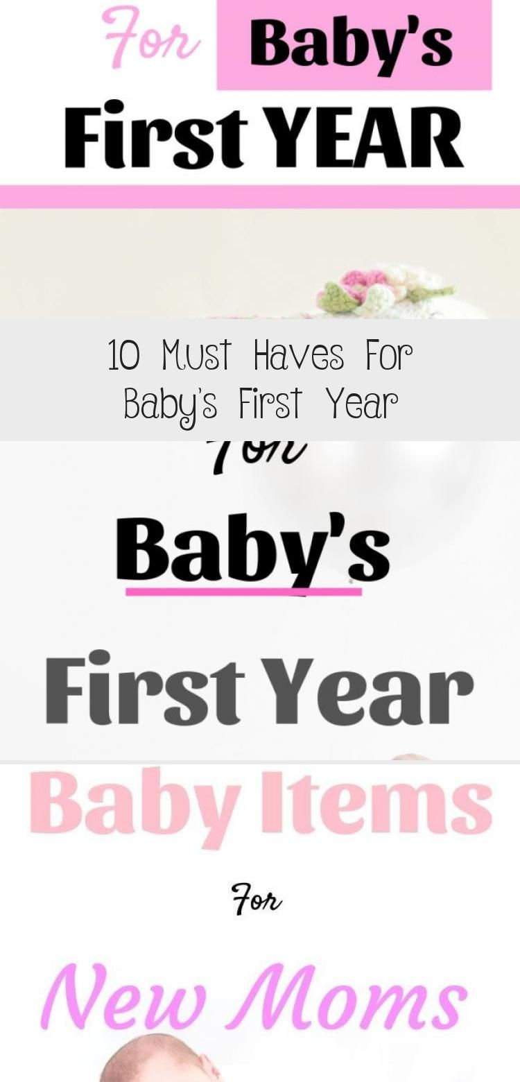 10 Must Haves For Baby S First Year In 2020 Babies First Year Rock And Play Baby Care
