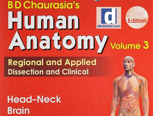Bd Chaurasia Human Anatomy Volume 3 Pdf Free Pdf Epub Medical