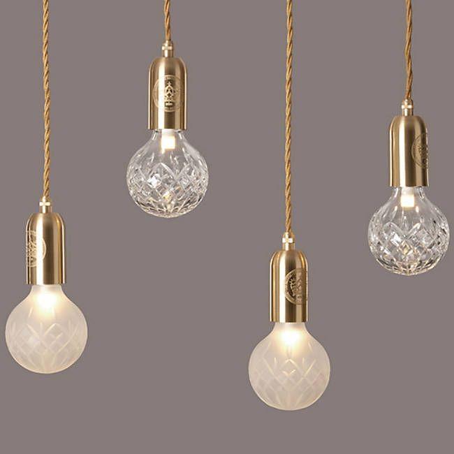 Crystal Bulb Led Mini Pendant Mini Pendant Lights Pendant Light Bulb