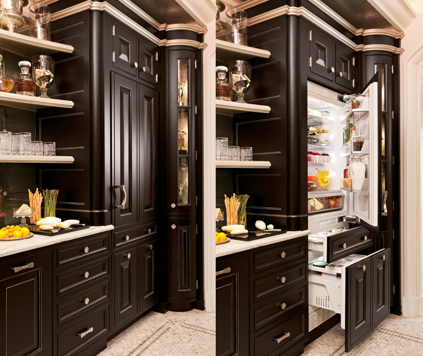 Built In Refrigerators That Blend Perfectly Into Your Kitchen S Decor Kitchen Design Decor Kitchen Models Kitchen Solutions