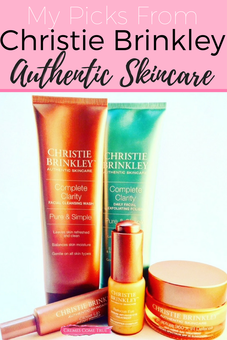 Christie Brinkley Authentic Skincare Review Cremes Come True Authentic Skincare Skin Cream Anti Aging Skin Care