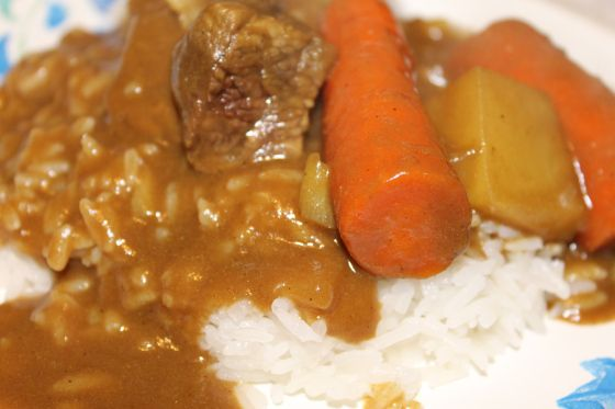 Easy Crock Pot Japanese Curry Japanese Curry Curry Beef Stew Slow Cooker Crock Pot Curry