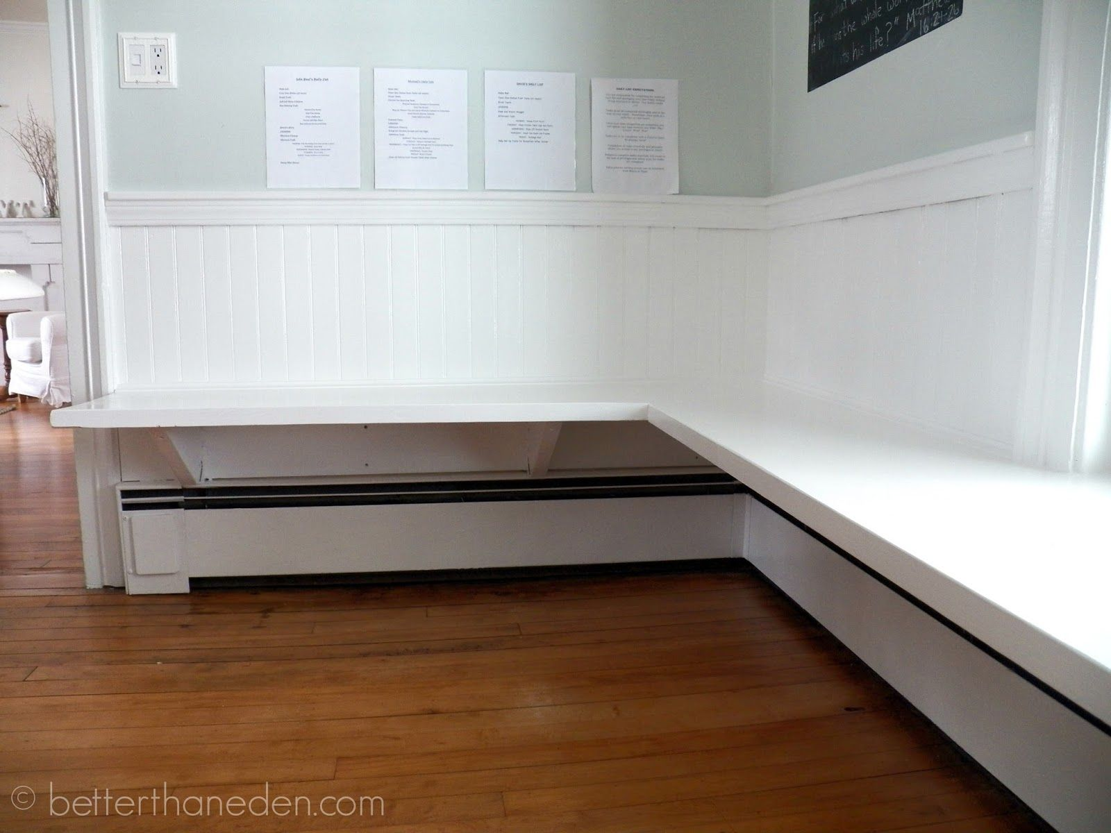 The Floating Built-In Kitchen Bench - Mary Haseltine in 2020 ...