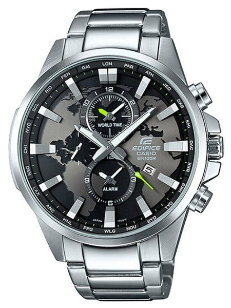 50bb8c4cac0 Relógio CASIO EDIFICE WORLD MAP - EFR-303D-1AVUEF