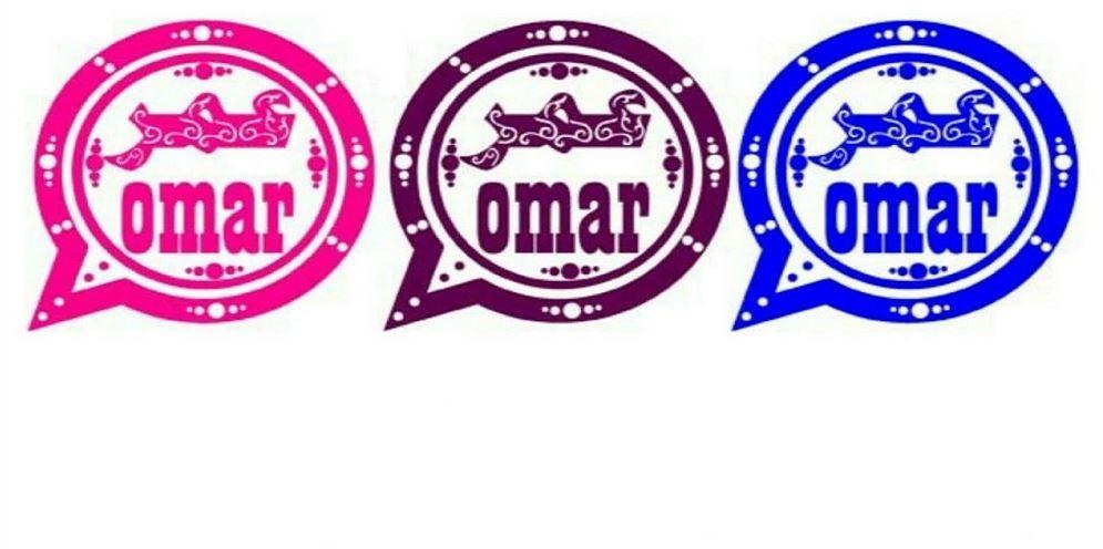 تنزيل واتساب عمر باذيب الازرق احمر الوردي العنابي Whatsapp Omar ضد الحظر App Logo Messaging App Android Apps Free