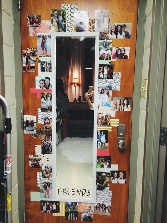 20 Creative DIY Photo Collage Ideas For Your Dorm Room (Or Bedroom Part 36
