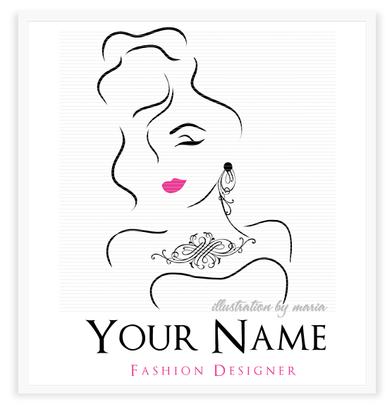 Pin By Sheila Holt On Fashionvanitystyle Fashion Logo Design Boutique Logo Design Logo Design Samples