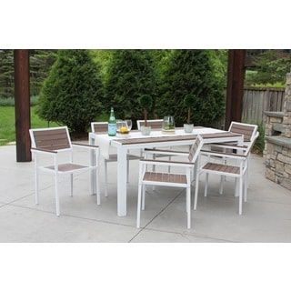 Discontinued 7 Piece All Weather Outdoor Patio Furniture Garden