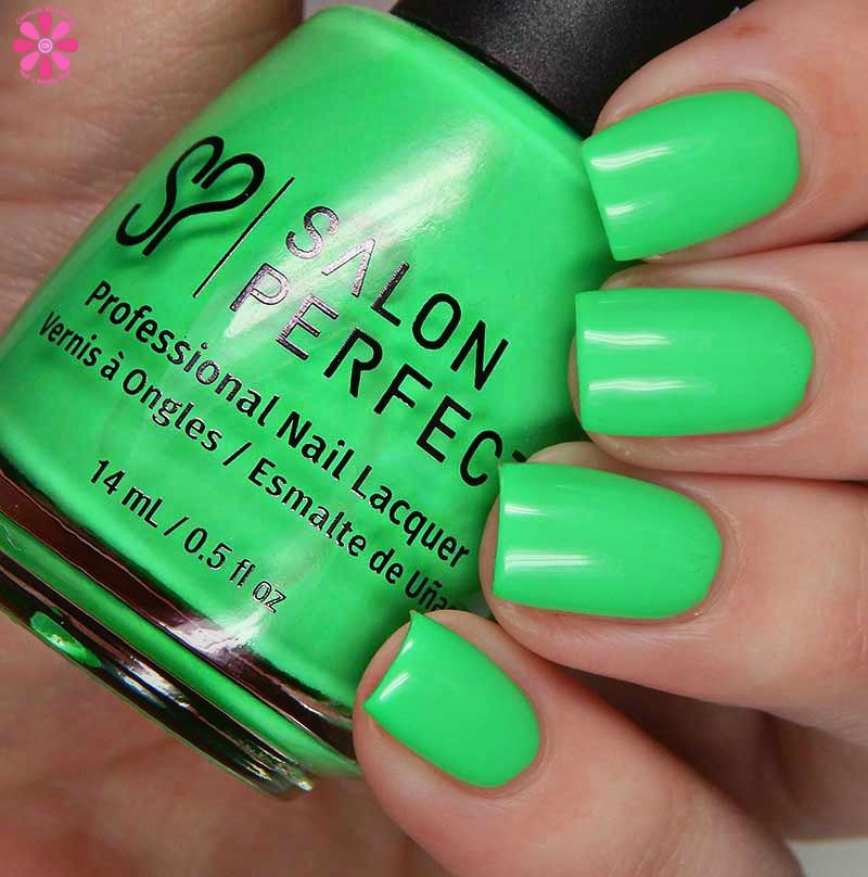 Salon Perfect Neon Pop Summer 2017 Collection With Images Nail