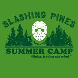 "SLASHING PINES SUMMER CAMP | ""Relax, it's just the wind."""