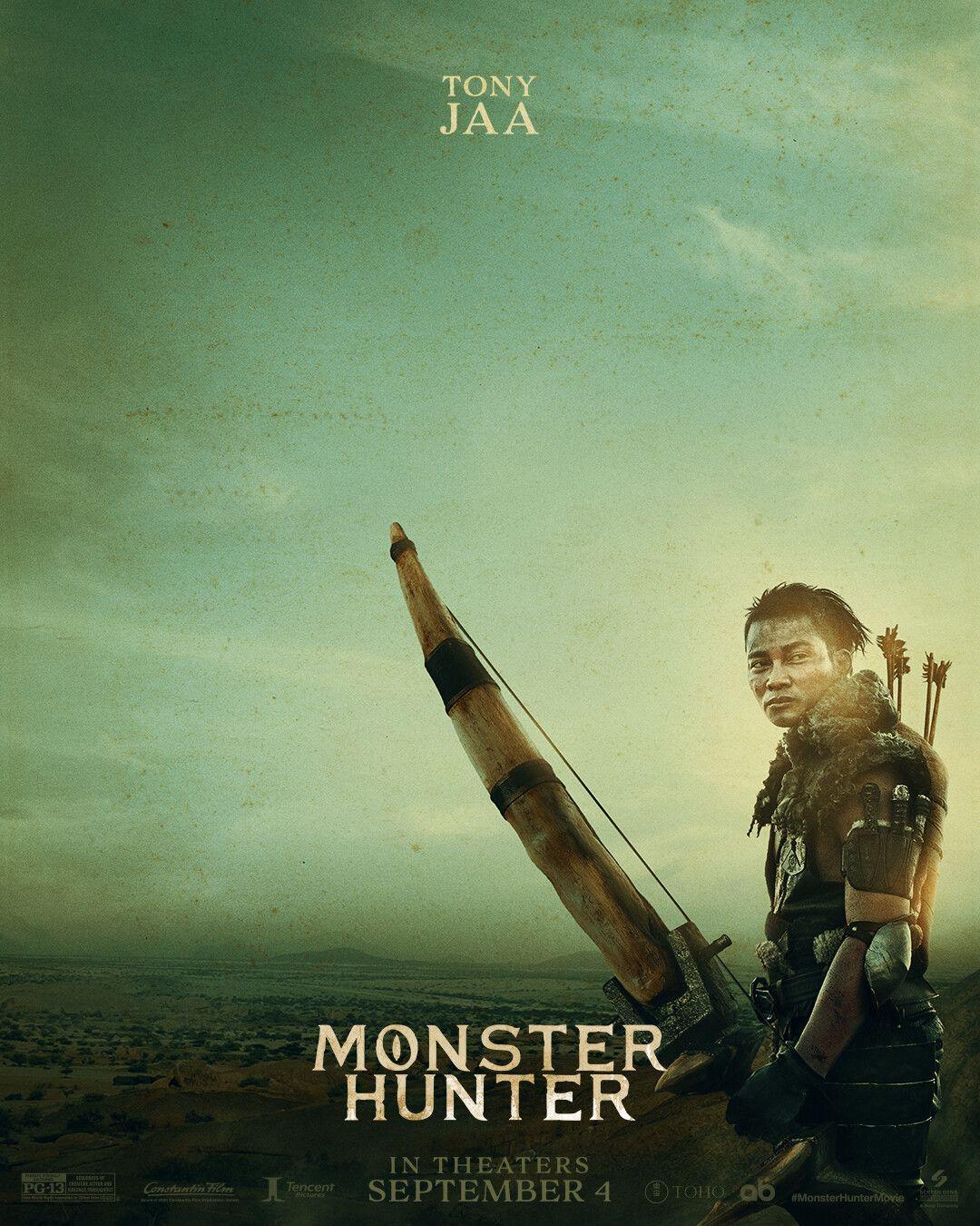 Monsterhunter Millajovovich Tonyjaa Ti Ronperlman Diegoboneta In 2020 Tony Jaa Hunter Movie Monster Hunter