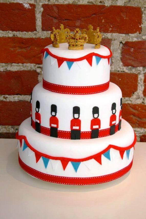 Queen Elizabeths Diamond Jubilee Cakes Cupcakes Decorating Ideas