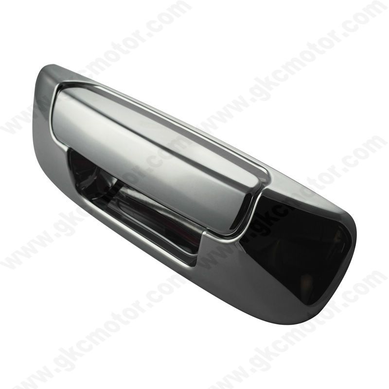 Gk 66001 02 08 Dodge Ram Tailgate Handle Cover With Images Chrome Door Handles Chrome Mirror Tailgating