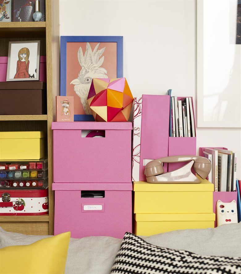Small-space makeover: Have fun with your storage - organise with ...
