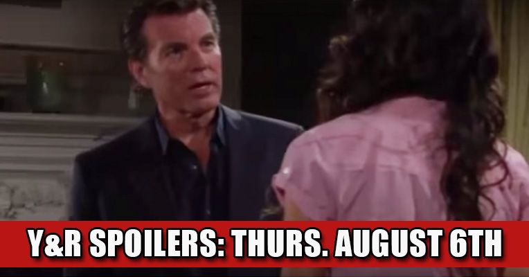 'The Young and The Restless' Spoilers: Thursday August 6th Check more at https://soapshows.com/young-and-restless/spoilers/8-6-15
