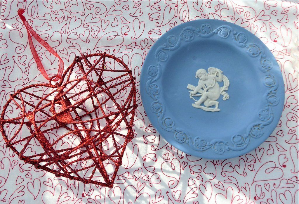 Wedgwood Blue Jasperware Small Plate.