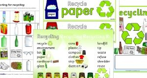 Eco School and Recycling Signs and Labels - SparkleBox | School