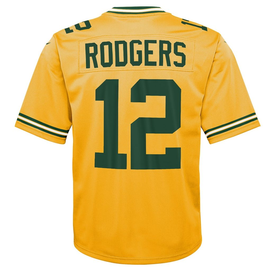 low priced da1b2 da228 Boys 8-20 Green Bay Packers Aaron Rodgers Inverted Color ...