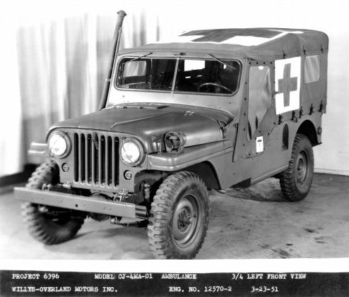 Jeep Heritage 1951 Jeep Willys Ambulances The Jeep Blog Military Jeep Willys Jeep Willys