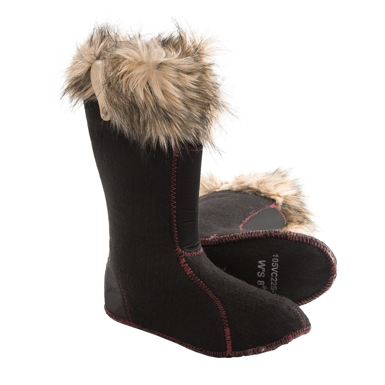 Sorel Boot Liners >> Sorel Joan Of Arctic Boot Liners Faux Fur Collar For