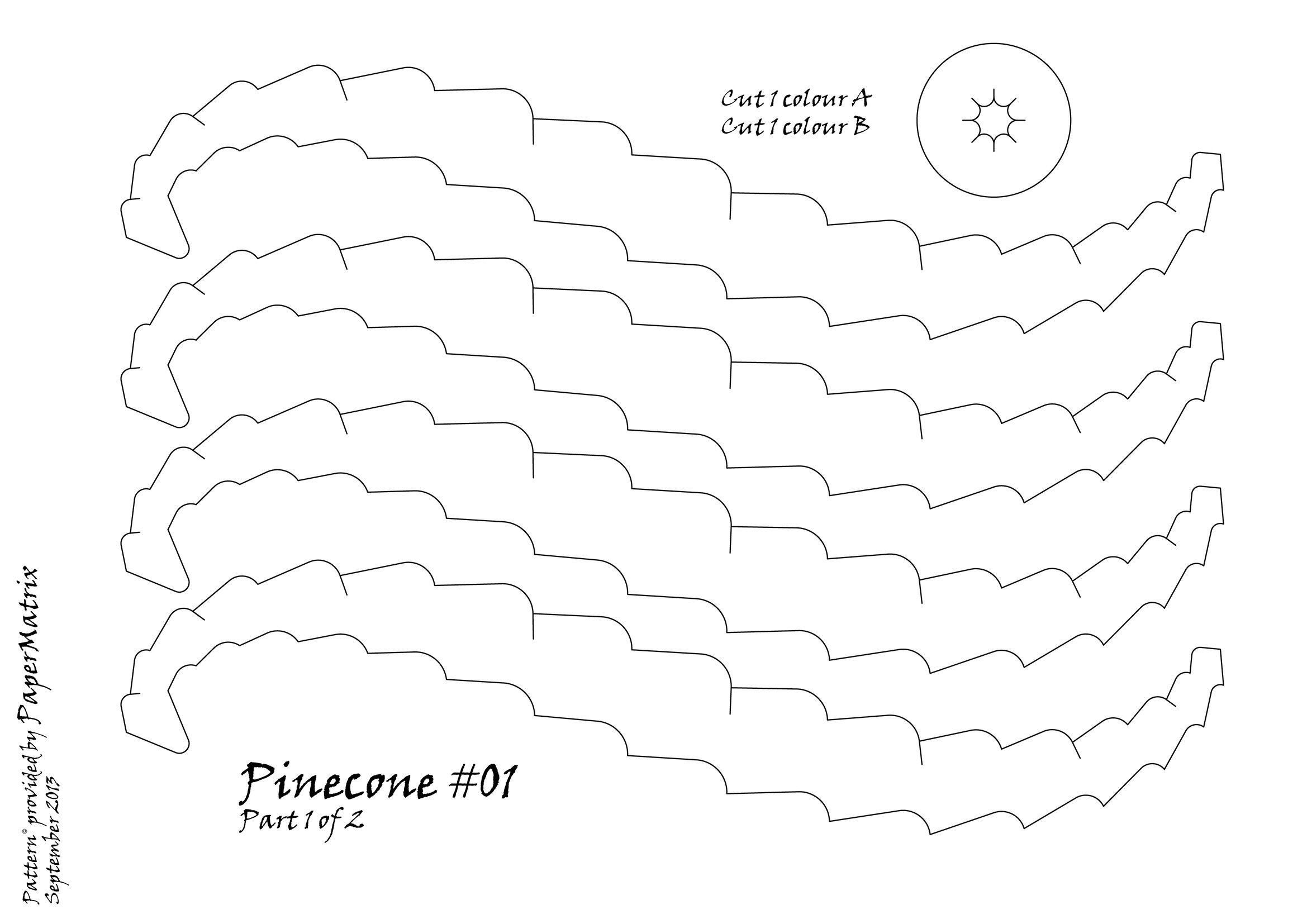 Papermatrixleswordpresspineconepattern