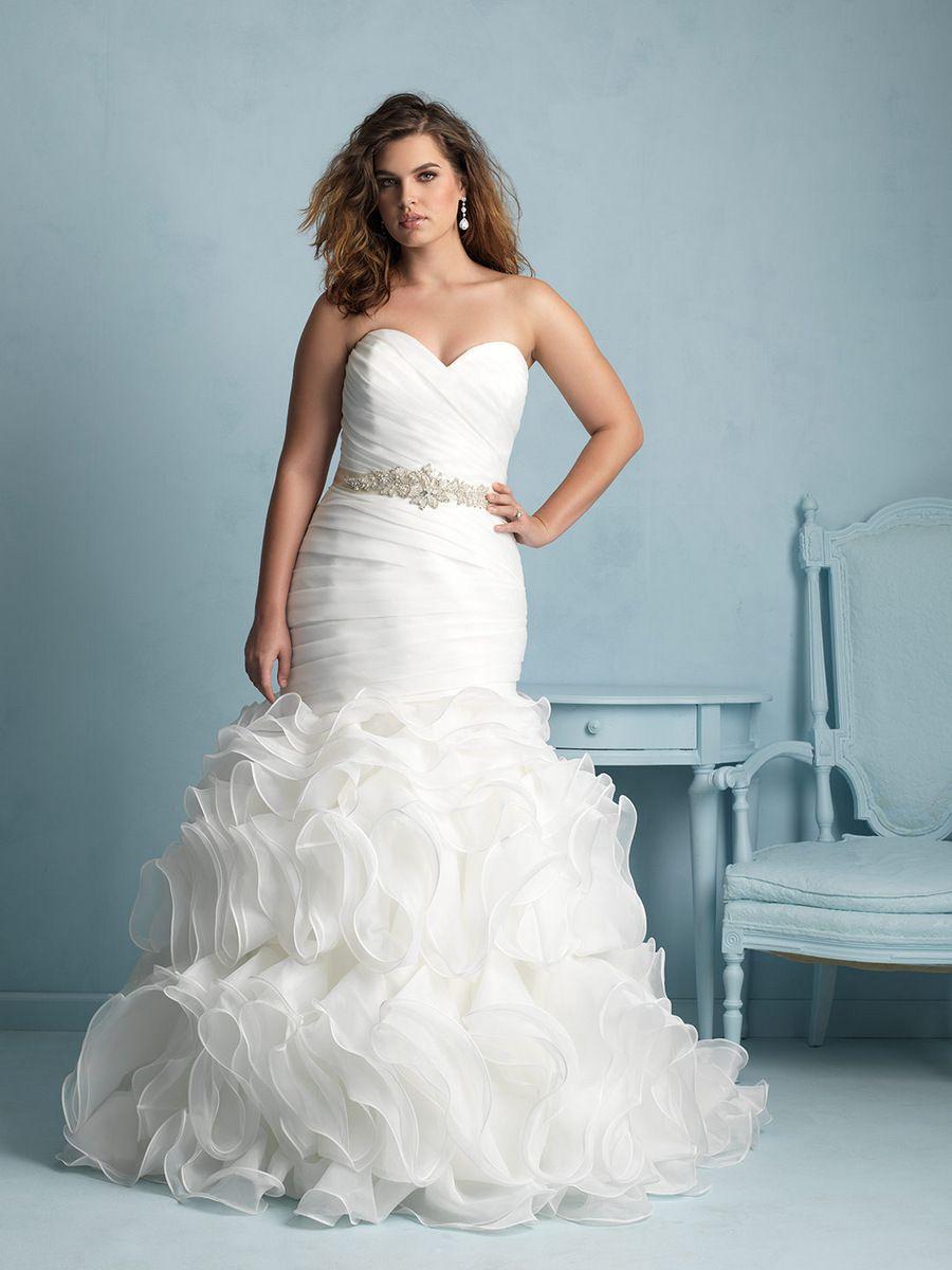 For the plus size bride allure bridals allure bridals wedding