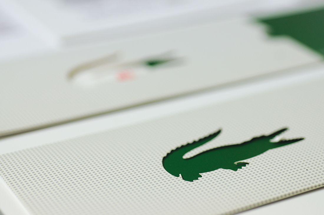 LACOSTE - Customer DM / Birthday Card / Point Card