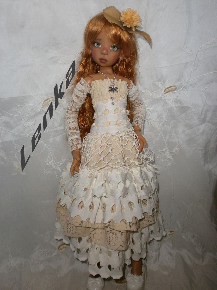 BJD 1/3 , KAYE WIGGS (and similar dolls) -ONLY OUTFIT